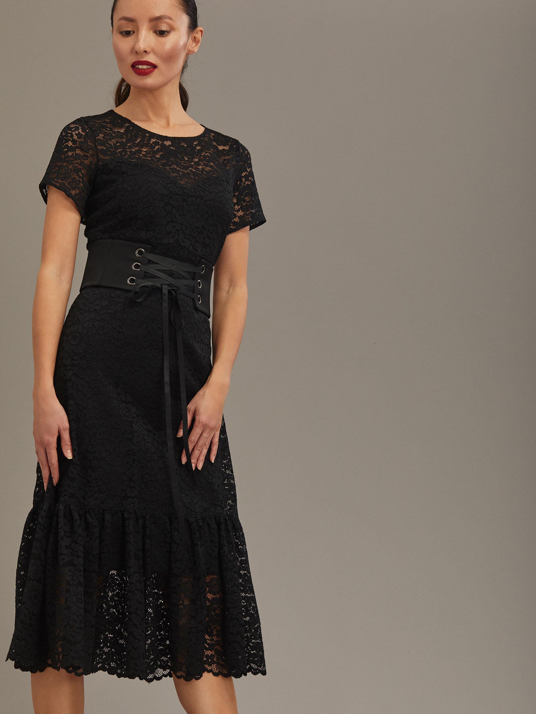 Кружевное платье фото