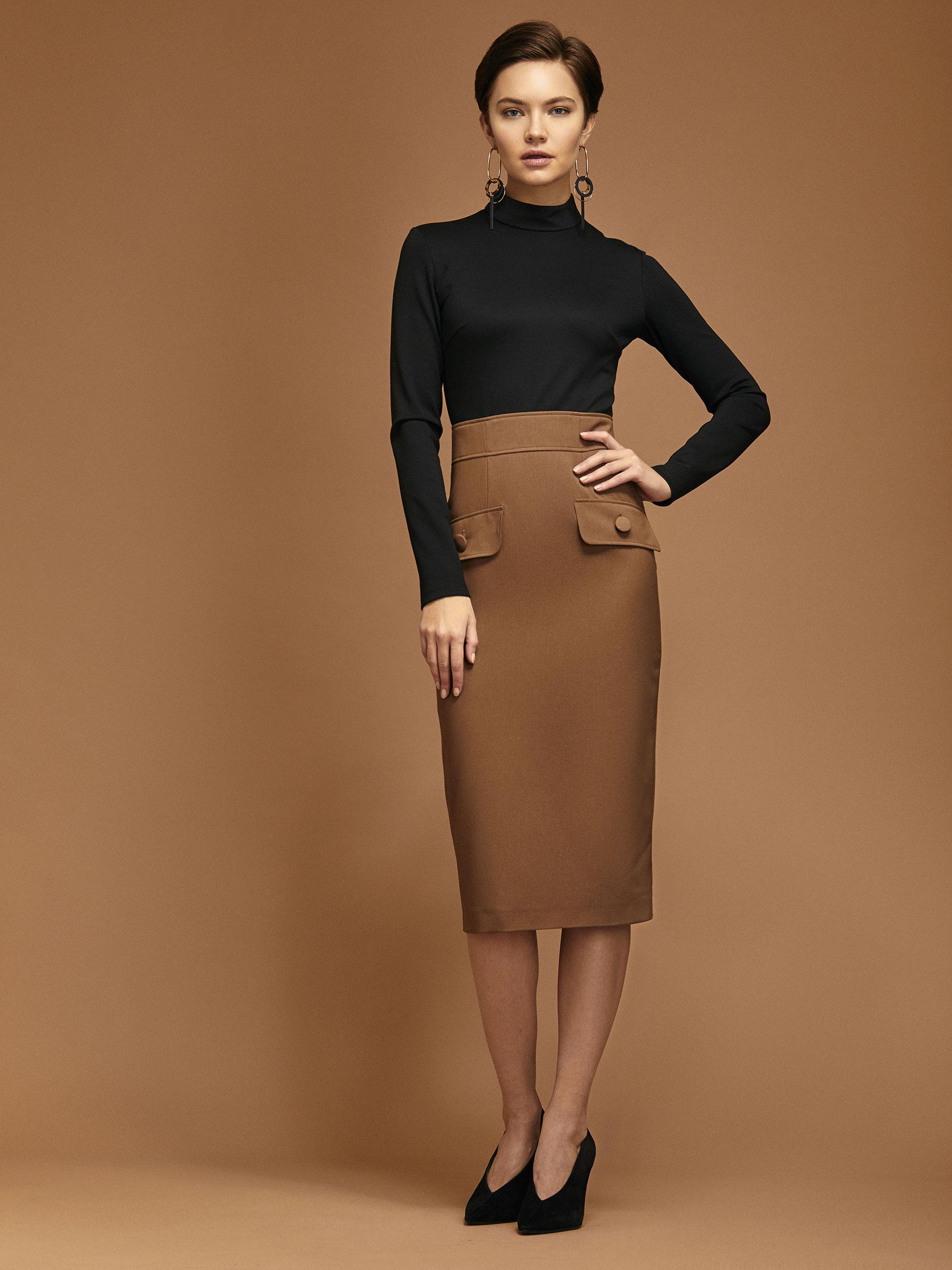 Комбинированное платье фото