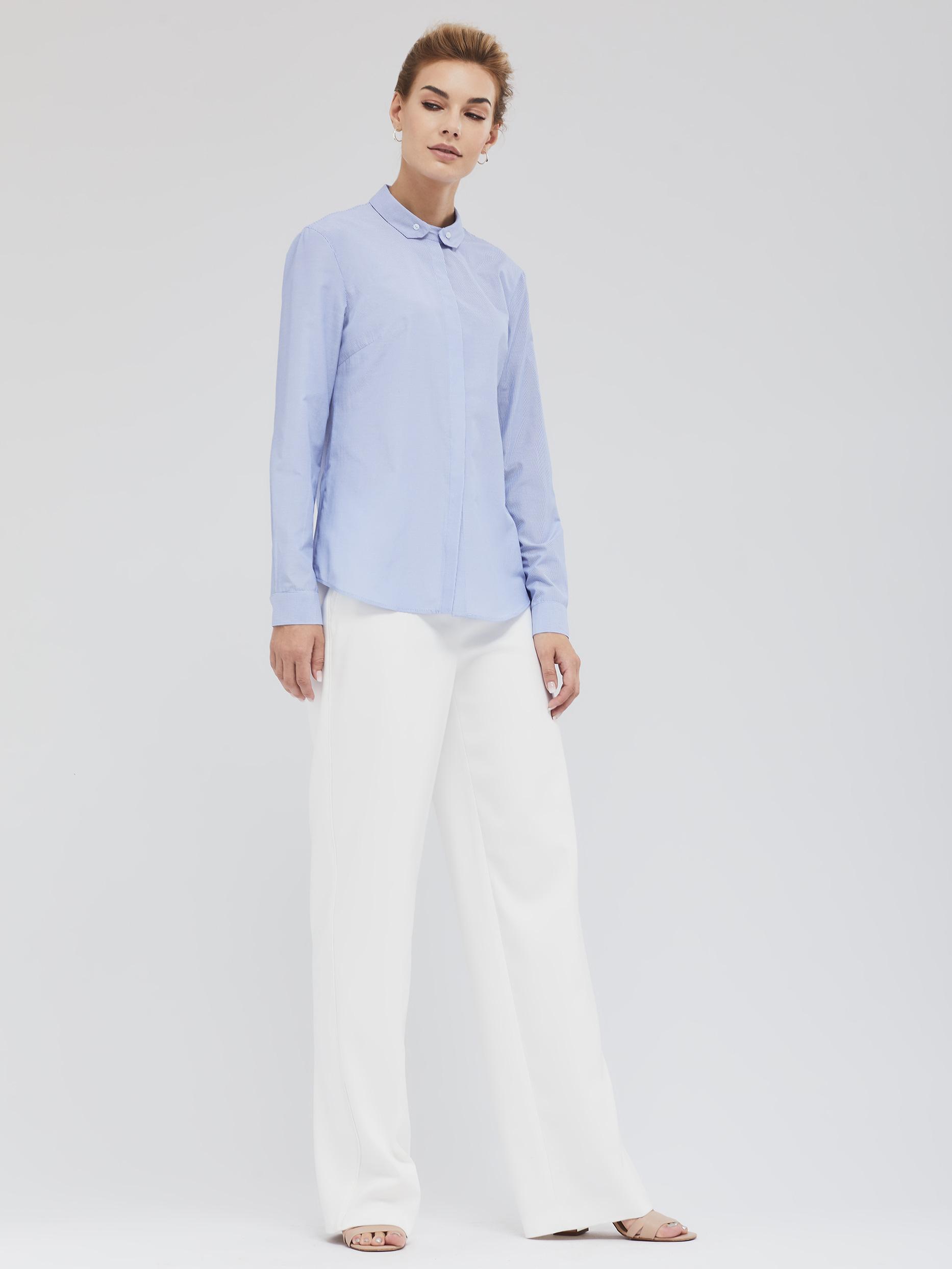 Рубашка с воротником на пуговицах фото