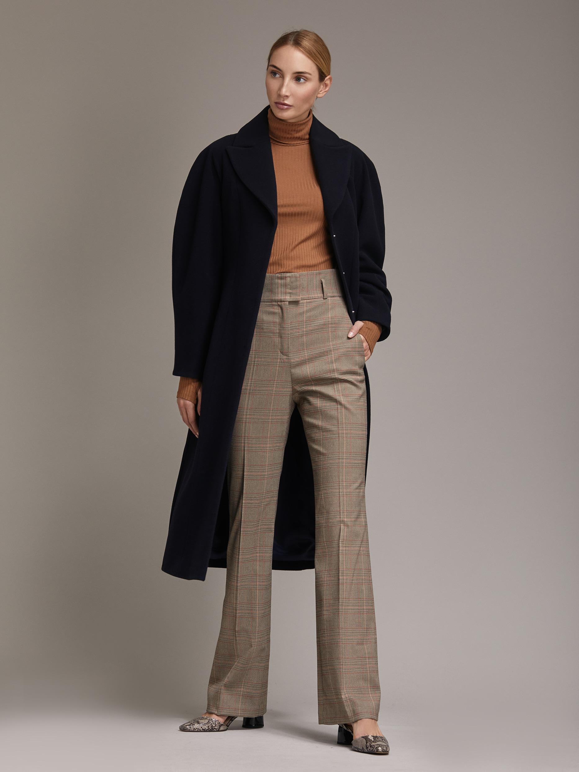 Пальто с объемными рукавами фото