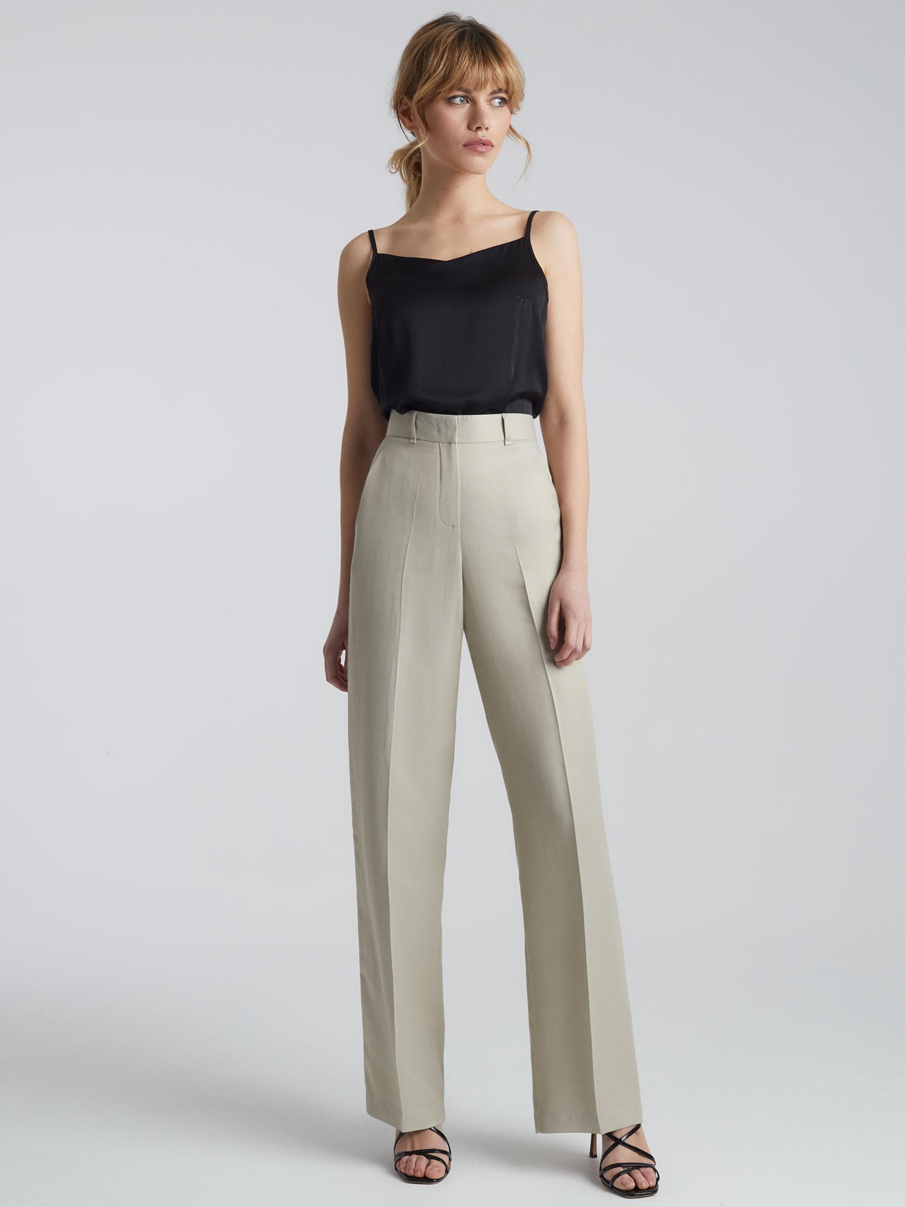Широкие брюки Charuel с высокой посадкой